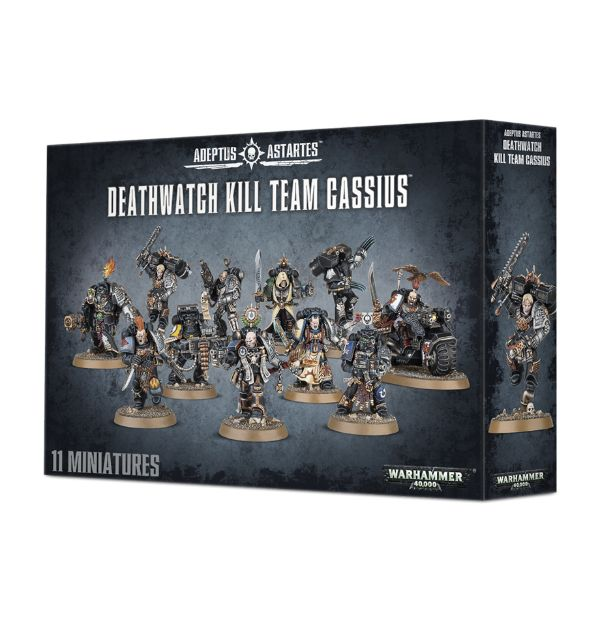 how to paint individually deathwatch kill team cassius