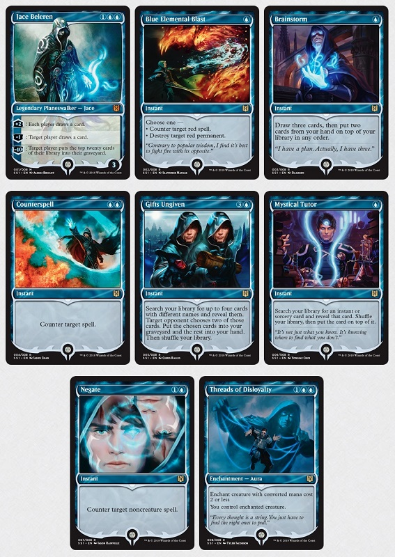 Jace NM Blue Rare CARD ABUGames Blue Elemental Blast FOIL Signature Spellbook